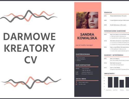 Darmowe kreatory CV